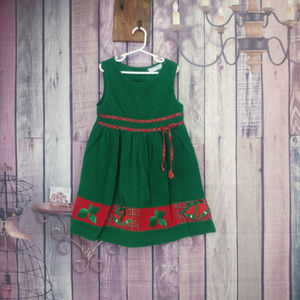 Other - chantilly place corduroy jumper dress size 5 AE1